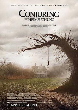 Conjuring Die Heimsuchung Poster